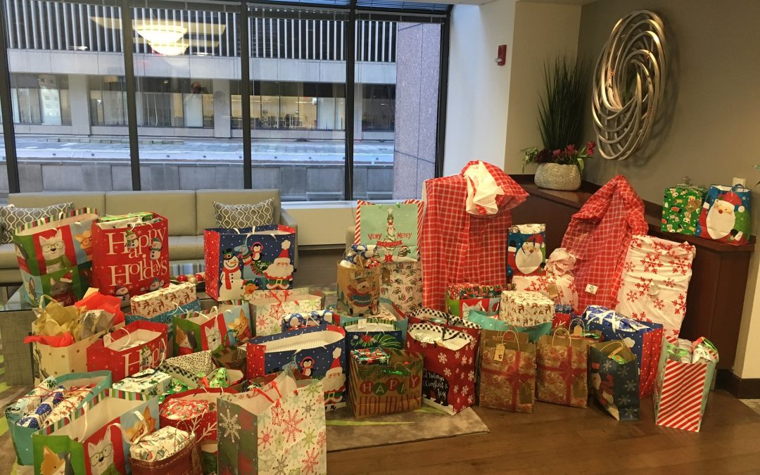 CMBG3 Fulfills Holiday Wish Lists For 35 Children