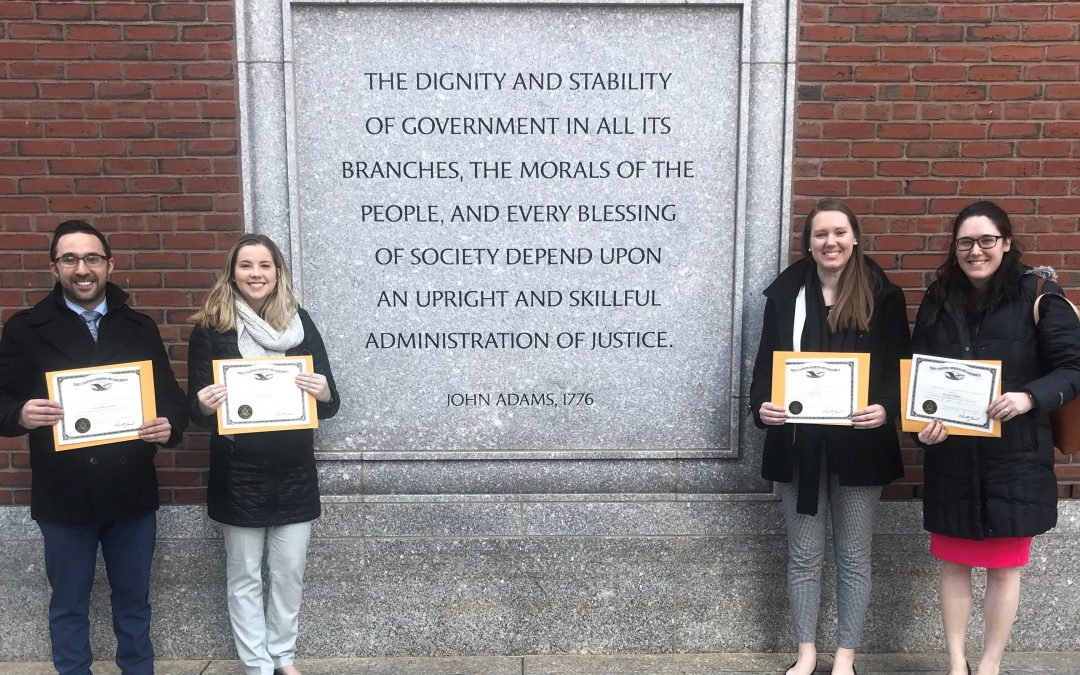 Congratulations To Four CMBG3 Attorneys On USDC-MA Admission
