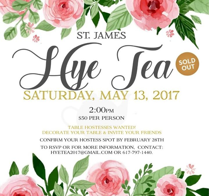 "CMBG3 Law Proudly Supports the St. James Armenian Church's Charity ""Hye Tea"" Event"